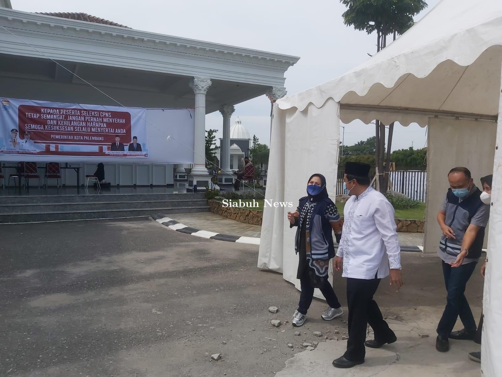 SKD CPNS Perdana Masa Pandemi, BKPSDM Palembang Sukses