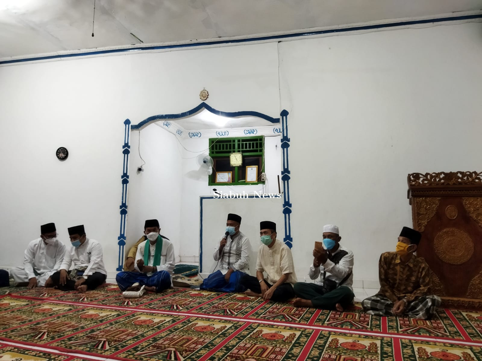Reaktivasi Agenda Subuh Berjamaah, Harnojoyo Resmikan Peletakan Batu Pertama Masjid Darussalam
